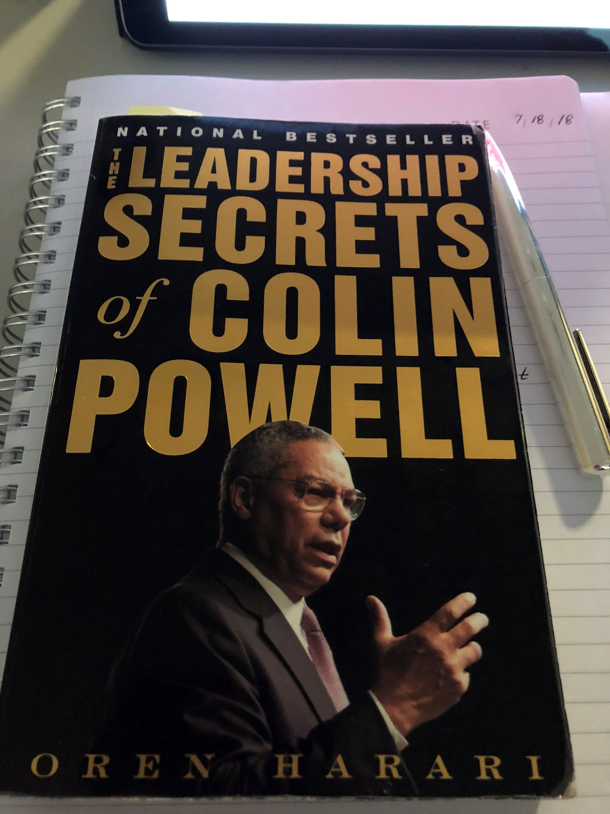 The Leadership Secrets of Colin Powell book cover